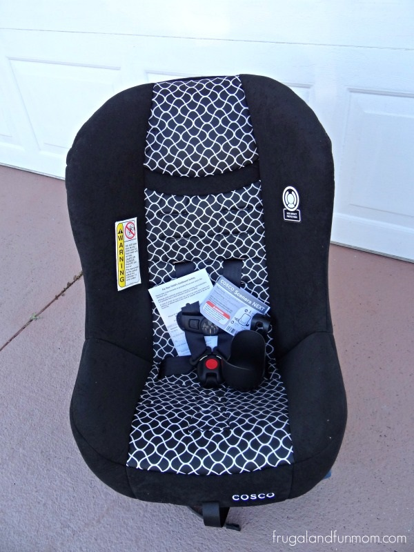 Cosco Scenera NEXT Convertible Car Seat before set up