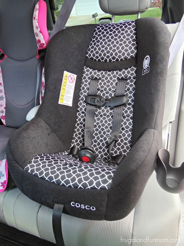 Cosco Scenera NEXT Convertible Car Seat in car
