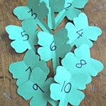 St. Patrick's Day Craft Lucky Scavenger Hunt! Teaches Problem Solving and Numbers!