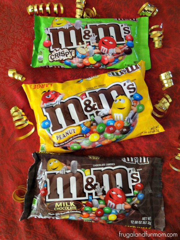 M & M'S are a great Oscar Night Snack