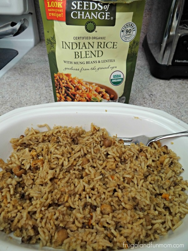 Seeds of Change Indian Rice Blend