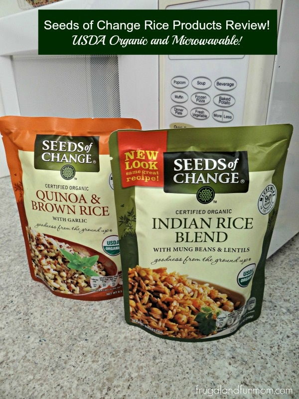 Seeds of Change Rice Products for the Microwave