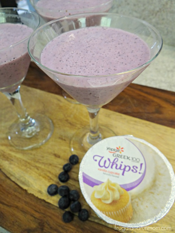 Blueberry Vanilla Cupcake Smoothie Recipe! #whipitup