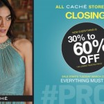 Caché Stores Closing!  Take Advantage of 30% to 60% off Prom Dresses and Gowns!