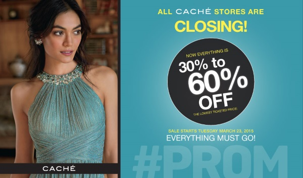 Cache Stores Closing