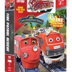 Chuggington Fire Patrol Rescue DVD With Fire Safety Tips and Free Coloring Sheet!