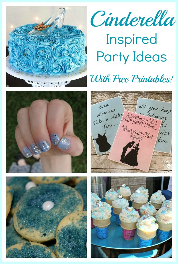 Easy Cinderella Inspired Party Ideas With Free Printable Activity Sheets! #Cinderella