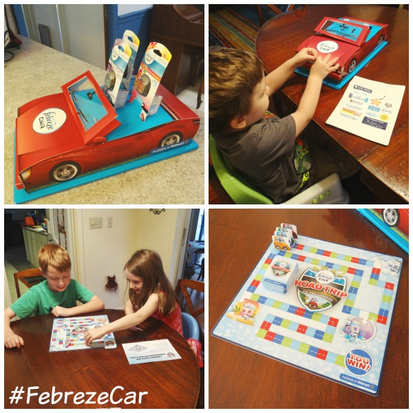 Family Fun with a Febreze Car