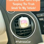 Fresh Vehicle with Febreze Car Vent Clips & $25 Walmart Gift Card Giveaway! #FebrezeCar