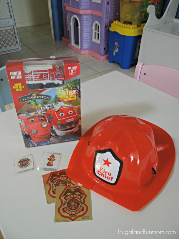 Fun pack for Chuggington Fire Patrol Rescue DVD