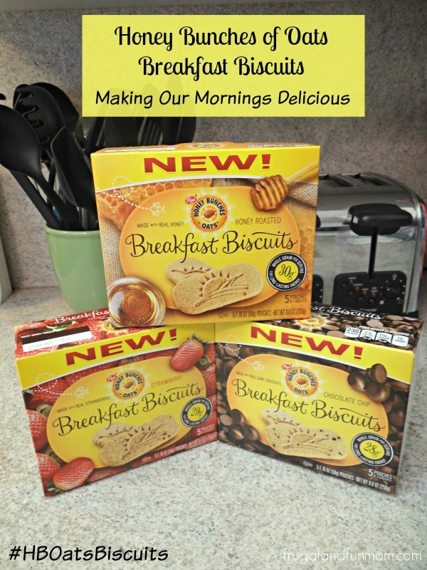 Honey Bunches of Oats Breakfast Biscuits Varieties