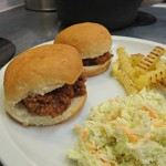 Sloppy Joe, Fries and a Cole Slaw Recipe! #ManwichMondays Easy Dinner Solution!