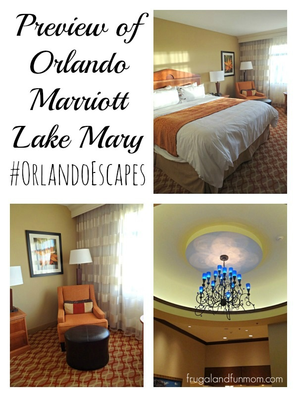 Orlando Marriott Lake Mary Sneak Peak