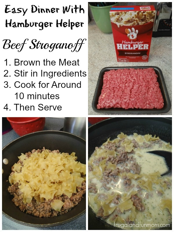 how to make tuna hamburger helper