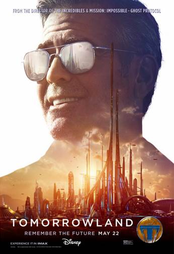 Tomorrowland Vision of Tomorrow Poster George Clooney