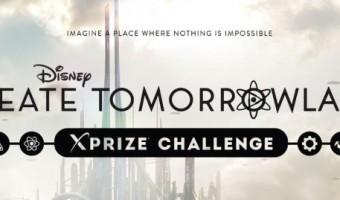 Disney's Create TOMORROWLAND XPRIZE Challenge & New Film Trailer! #TomorrowlandEvent