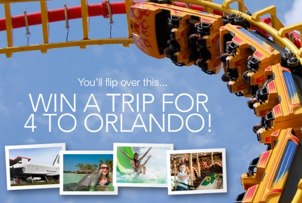 Atlantic Luggage Orlando Trip Giveaway Promotion