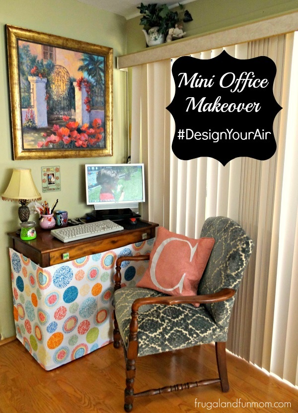 Mini Office Makeover Renuzit and Homegoods