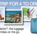 Enter For A Chance To WIN A Trip For Four To Orlando From Atlantic Luggage! #AtlanticLuggage