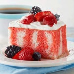 "Berry Summer Poke Cake Recipe and The FREE ""Kick Off Your Summer"" Cookbook! #CookingUpSummer"