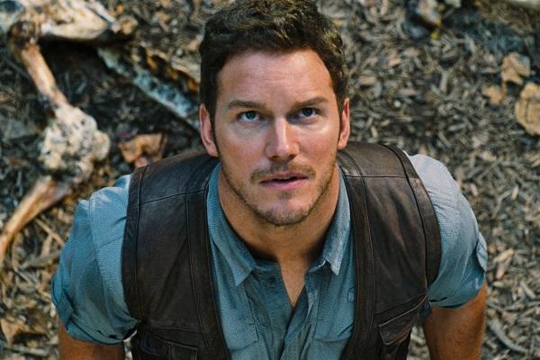 Chris Pratt of Jurassic World