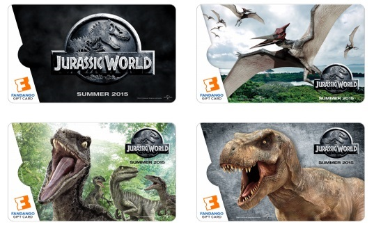 Jurassic World Gift Cards Fandango