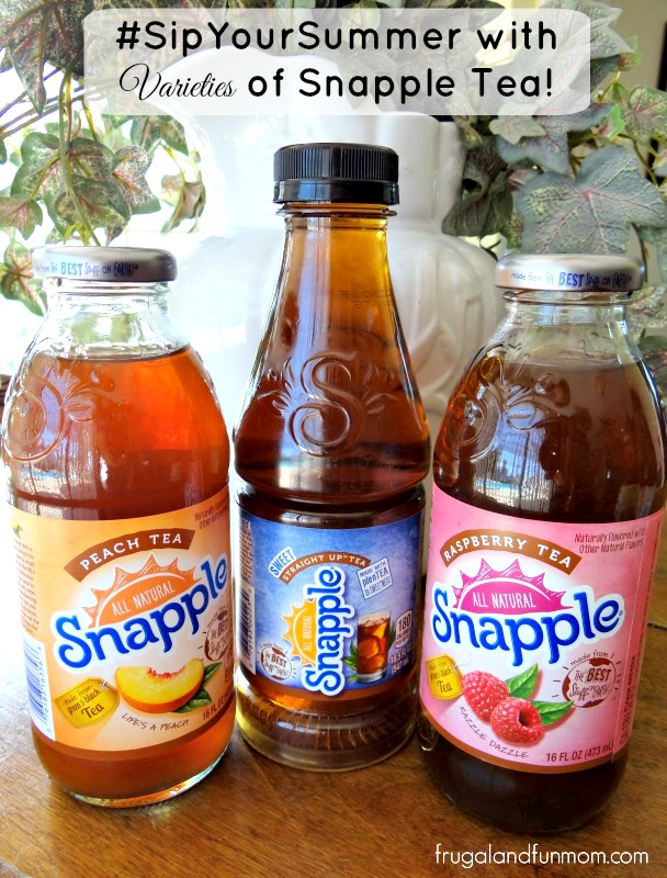 Snapple Premium Teas and 18.5 oz Straight Up Tea