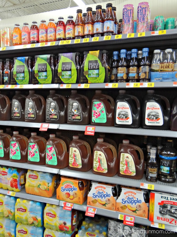Snapple Premium Teas and Straight Up Tea at Walmart