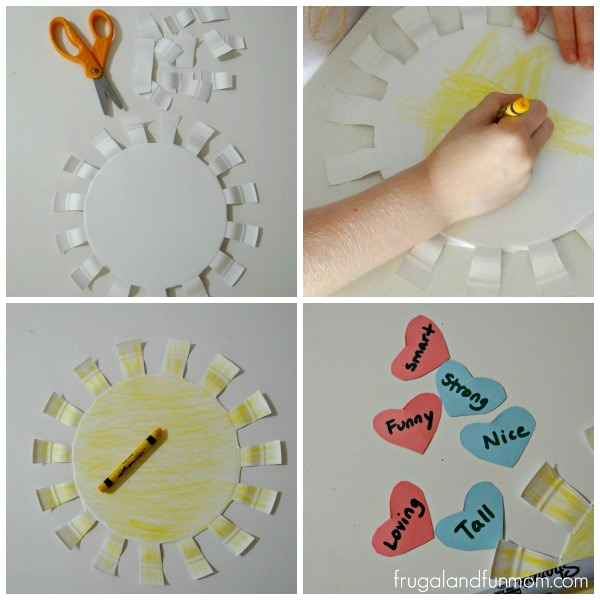 Steps to you are my sunshine craft