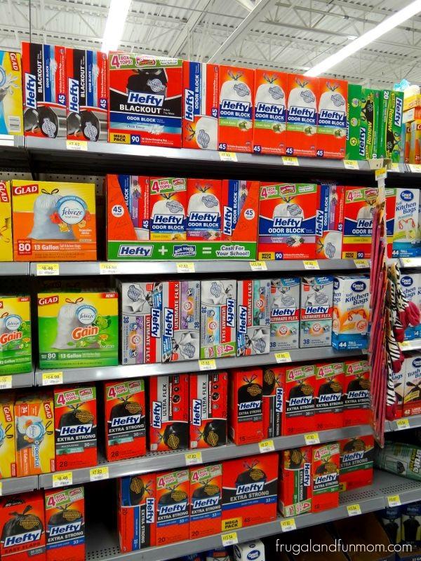 Hefty Odor Control Trash Bags at Walmart