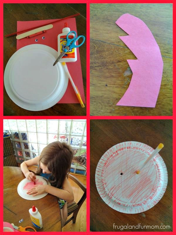 How to make a paper plate Ant