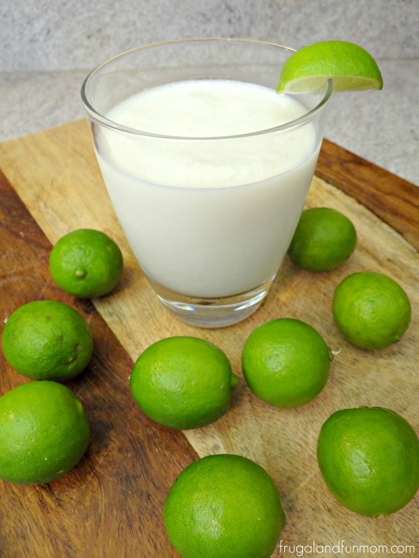 Key Lime and Coconut Smoothie Recipe