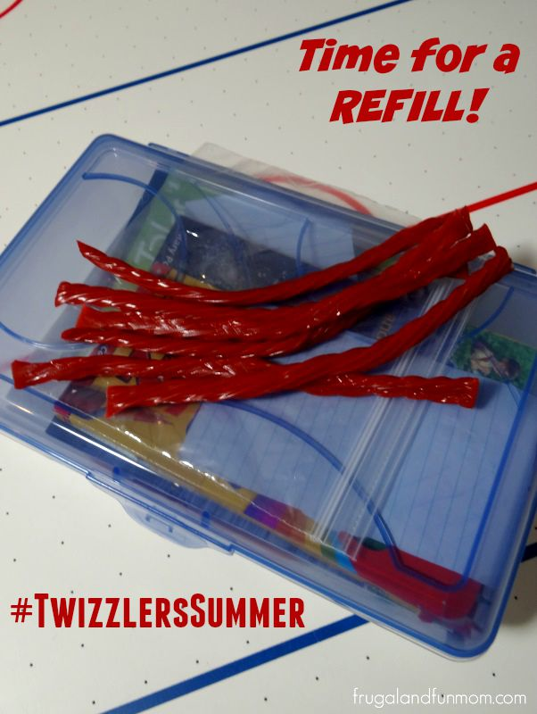 Summer Travel Busy Box Ideas! They Are Keeping My Children Entertained! #TwizzlersSummer #Ad