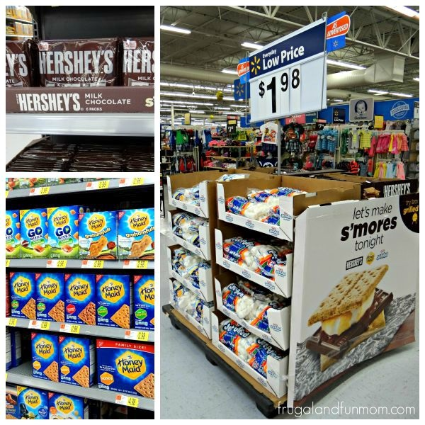 Walmart Instore Display for S'mores