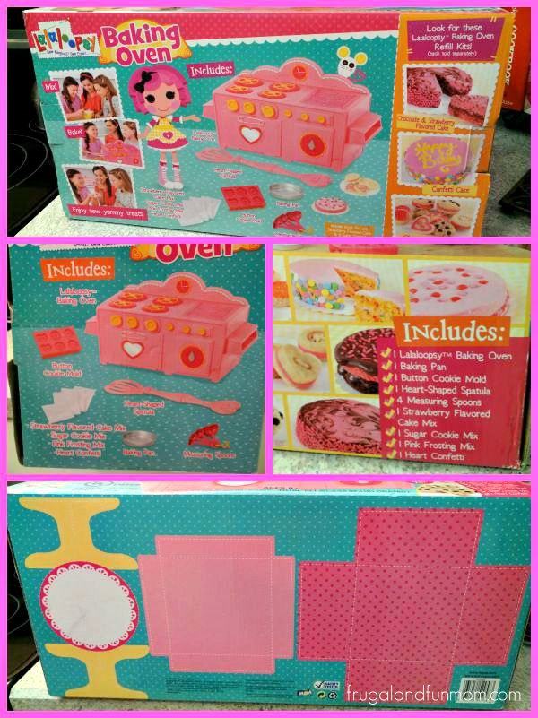 Box for Lalaloopsy Baking Oven