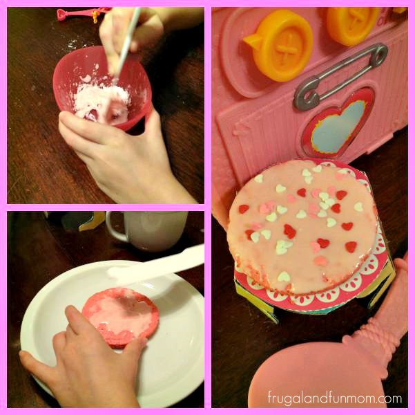 Decorating the Lalaloopsy Baking Oven