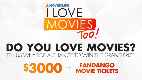 Fandango I Love Movies Too Contest Photo