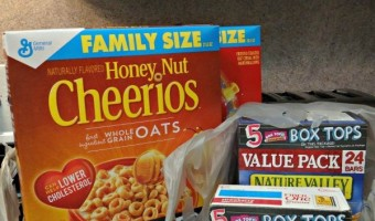 Shop Back To School With General Mills and Bonus Box Tops for Education at Walmart!