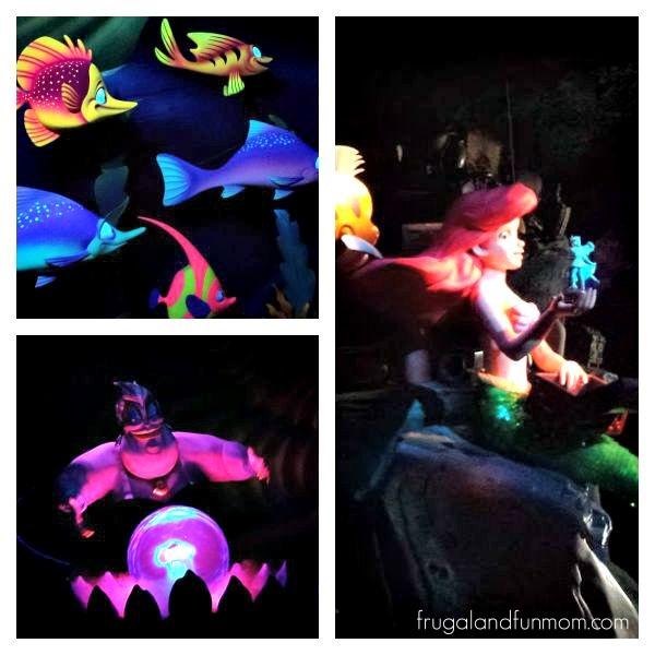 Little Mermaid Ride at Magic Kingdom (1)