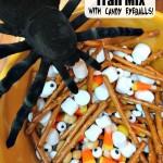 Halloween Trail Mix With Candy Eyeballs! #Halloween