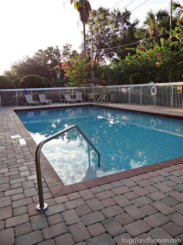 Pool at Comfort Inn International Drive Orlando