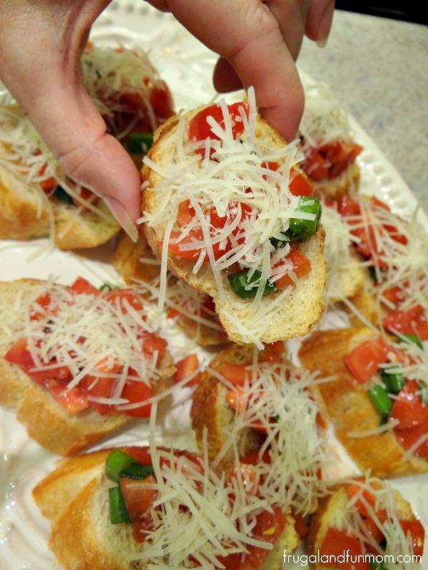 Campari Bruschetta Recipe
