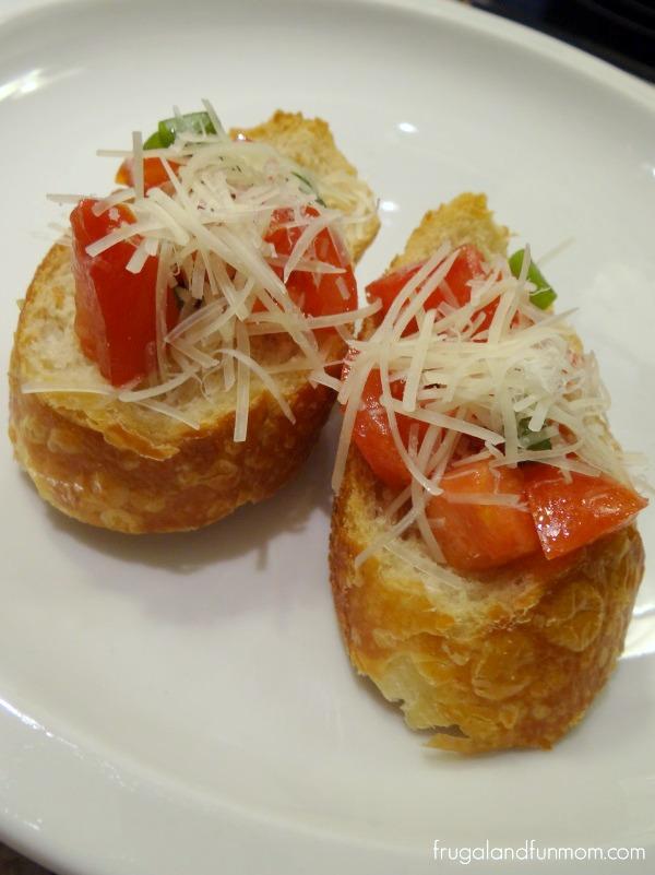 Easy Campari Bruschetta Recipe