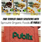 Find Toddler Snack Solutions with Sprout® Organic Foods at Publix and $2 Off Coupon! #SproutFoods