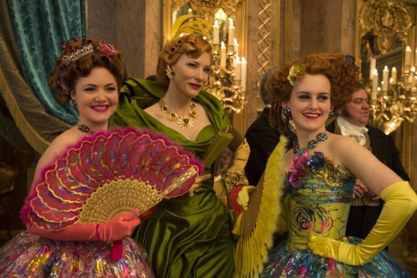 The Stepmother and Step Sisters in Cinderella