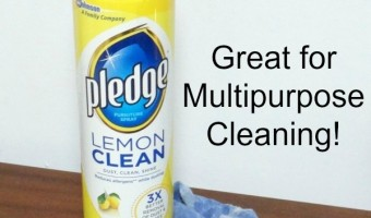 DIY T-Shirt Cloths for Multipurpose Cleaning and a $0.50 off Coupon for Pledge® !