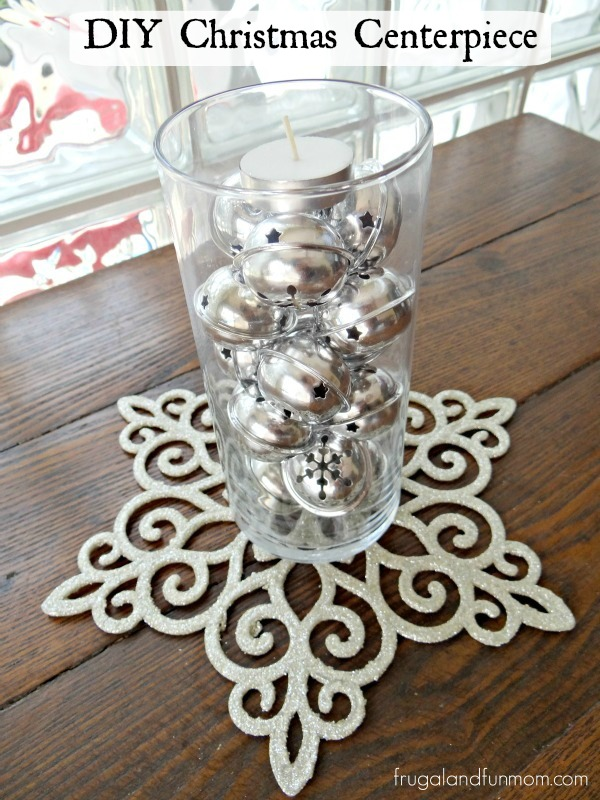 Dollar Store Christmas Centerpiece DIY Tutorial