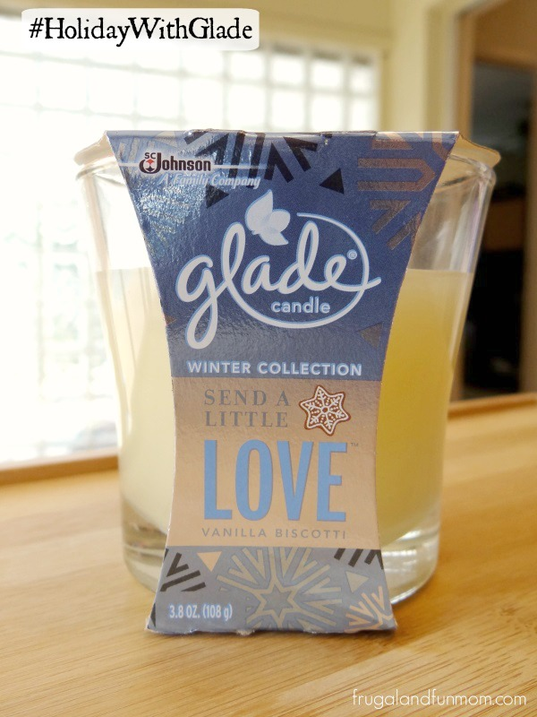 Glade Winter Collection Vanilla Biscotti Candle Glade Winter Collection Plugin in Vanilla Biscotti #HolidayWithGlade