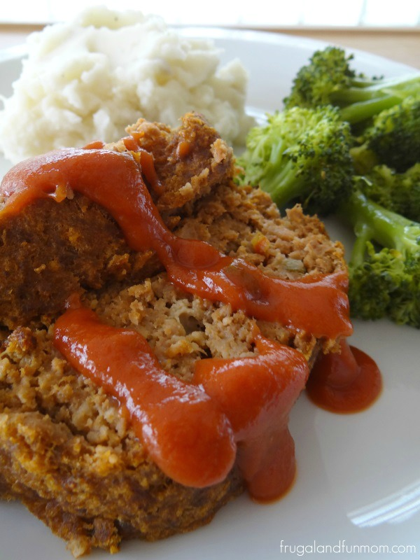 Sweet Pepper Meatloaf Recipe Made With 4 Simple Ingredients! #YesYouCAN