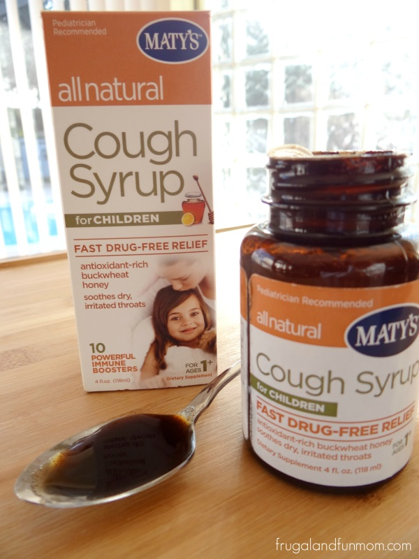 What Maty's Cough Syrup looks like